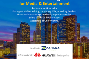 Cloud Storage For Media & Entertainment