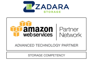 Zadara Storage Awarded AWS Storage Competency for Primary File Storage and Cloud NAS